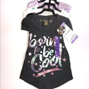 NWT Girls Vigoss 3 Pack Tee
